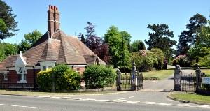 Handcross Park School entrance