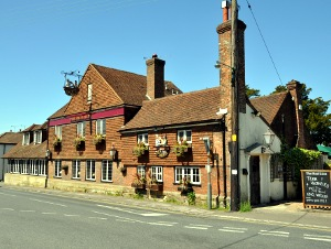 The Red Lion pub, Handcross