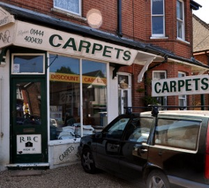 Roy Berry Carpets, Handcross