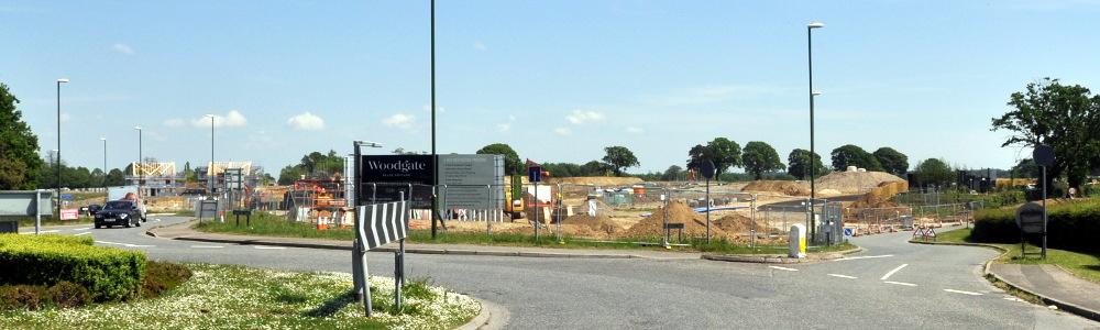 Parish Lane, Pease Pottage, August 2019