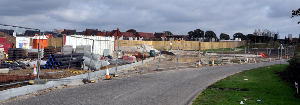 Parish Lane, Pease Pottage, 20 October 2019