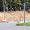 A23/M23 roundabout, Broadfield by-pass, 20 October 2019