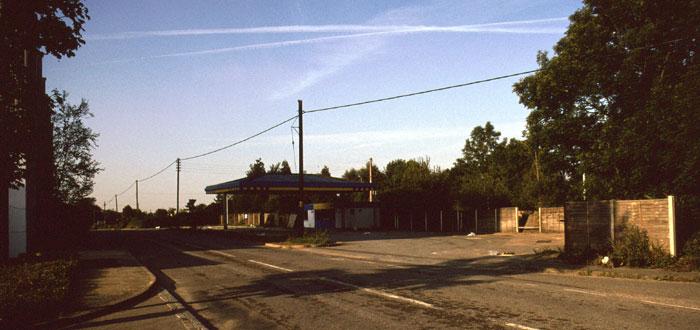 deserted Jet garage