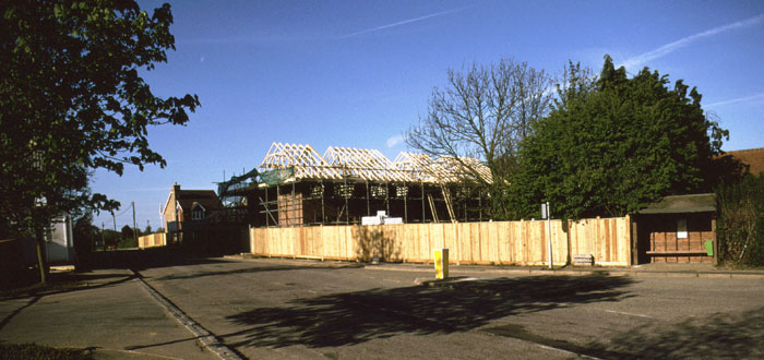 houses being built