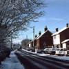 Horsham Road in winter