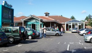 Moto service station, Pease Pottage, Sussex