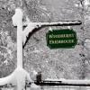 entrance to Woodhurst farmhouse